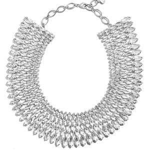 BaubleBar Anatalia Crystal Collar Necklace